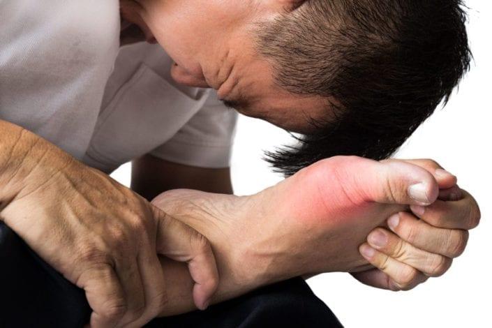 Del pie gordo dolor repentino en dedo