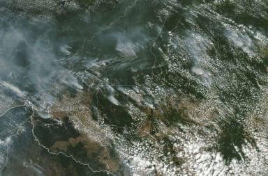 Incendio imparable en el Amazonas