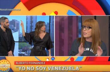 Agustina Kampfer comparo Venezuela con Argentina y se pudrió todo al aire de 'Nosotros a la Mañana'