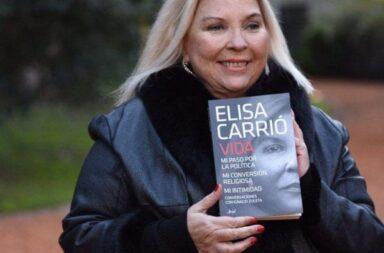 """""""Una mujer de letras"""" la presentación de """"Vida"""" de Elisa Carrió"""
