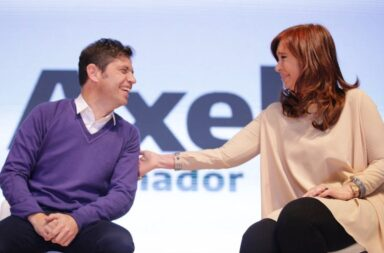Las votaciones de Cristina Fernández de Kirchner y Axel Kicillof