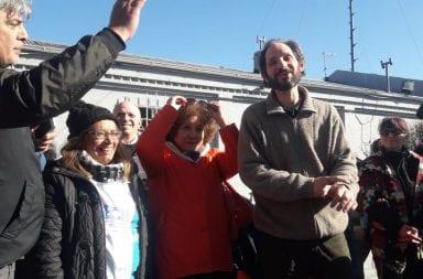 Chubut: represión a docentes
