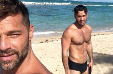 Ricky Martin y su marido, nuevamente