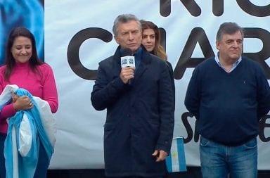 Macri en Río Cuarto: su desacertado comentario luego de las inundaciones
