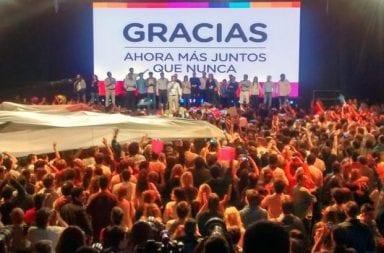 El presidente Mauricio Macri reconoció su derrota electoral y anunció avances de cara a la transición