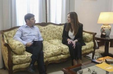 Axel Kicillof se reunió con María Eugenia Vidal y le pidió que retrotraiga el aumento tarifario