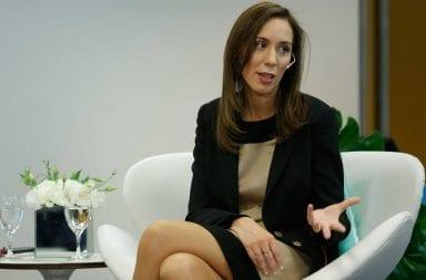 María Eugenia Vidal piensa en una posible derrota