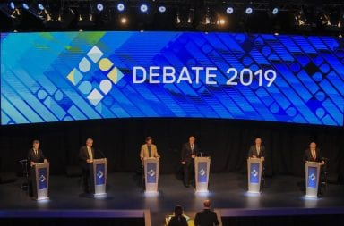 debate Alberto Fernández Macri