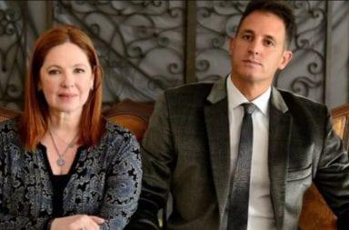 La sutil foto de Andrea del Boca y su abogado Juan Pablo Fioribello