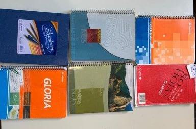 cuadernos chofer Oscar Centeno