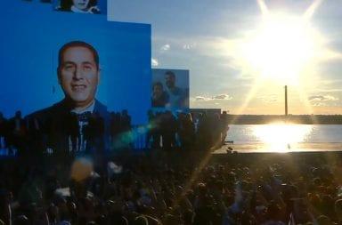 Día de la Lealtad Peronista Alberto Cristina La Pampa