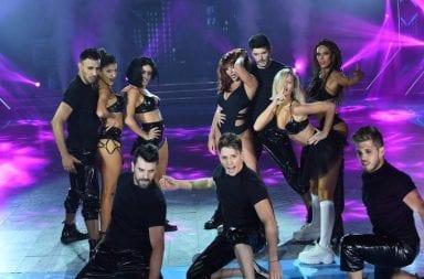Charlotte Caniggia homenajeó a las Spice Girls y el jurado la mató
