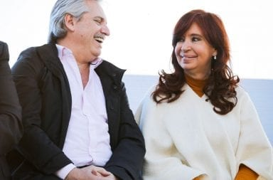 La Pampa: Alberto, Cristina y el festejo peronista