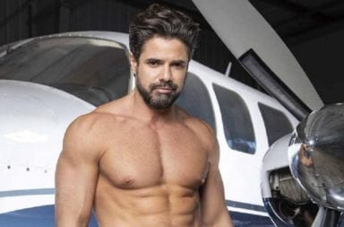 Primicia: Filtran nudes de Luciano Castro totalmente desnudo