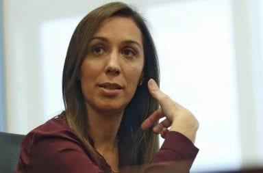 María Eugenia Vidal se diferenció de Mauricio Macri