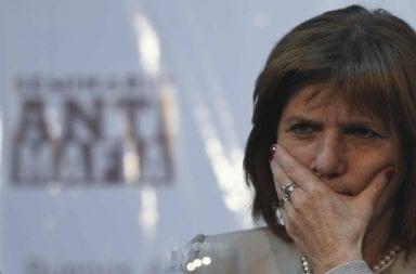 Patricia Bullrich, imputada por espionaje ilegal a la comunidad mapuche