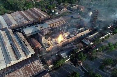 Incendio en La Esperanza deja un saldo de 12 muertos hasta ahora