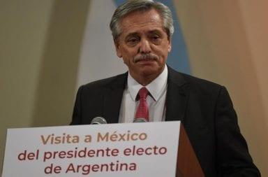 Alberto Fernández, desde México: