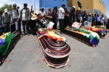Bolivia: organismo forense afirma que hubo víctimas asesinadas por