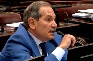 Alperovich pidió licencia en el senado luego de la denuncia por violación