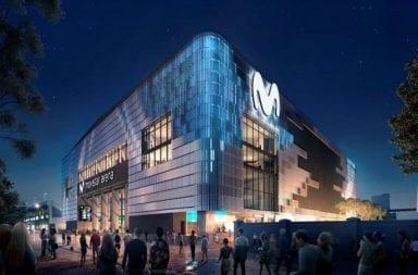 Un hombre fue atropellado en la inauguración del Movistar Arena.
