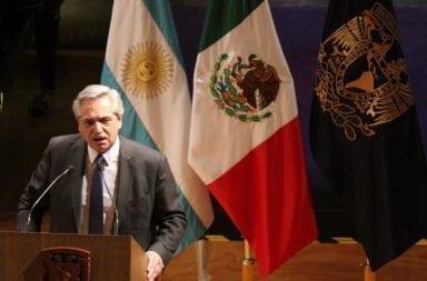 Alberto Fernández en México