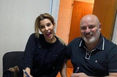 Charlotte Caniggia firmó para Mar del Plata