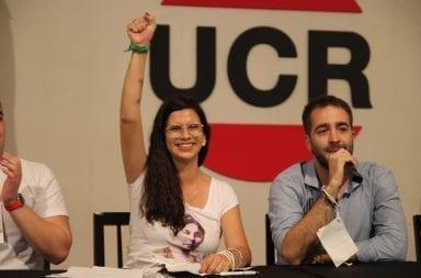 Histórico: Por primera vez la presidencia de la Juventud Radical se traspasa de mujer a mujer