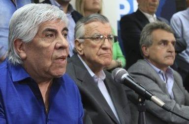 Moyano y Daer: con tensiones hacia Alberto Fernández