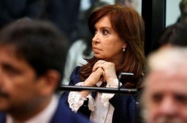 Cristina Fernández presentó esta mañana un recurso para que su declaración sea televisada