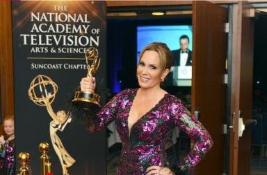 Natalia DeNegri sigue conquistando EEUU, fue ganadora de 6 Emmy Suncoast