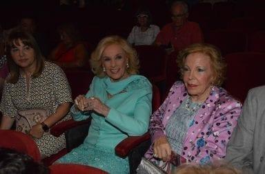 Mar del Plata: Gasalla y Polino recibieron a Mirtha Legrand