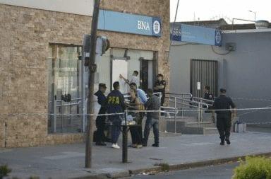 Una policía de la ciudad implicada en el robo del Banco Nación