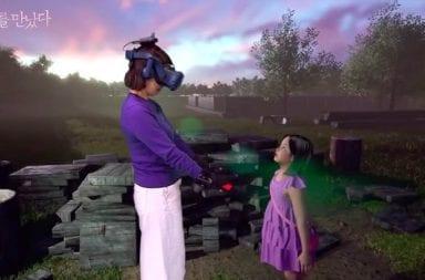 Reencuentro de una madre con su hija fallecida mediante Realidad Virtual