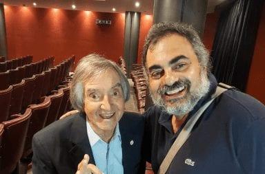 Mar del Plata: Carlitos Bala visitó 'Moldasky Reperfilado'
