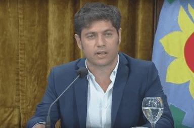 Axel Kicillof confirmó el inicio de la reestructuración de la deuda de la provincia