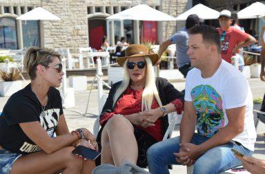 Vidriera: los famosos en Mar del Plata