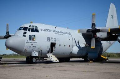 Un Hércules C-130 traerá de regreso a 70 argentinos desde Perú