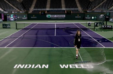 Tenis: cancelaron Indian Wells a causa del coronavirus