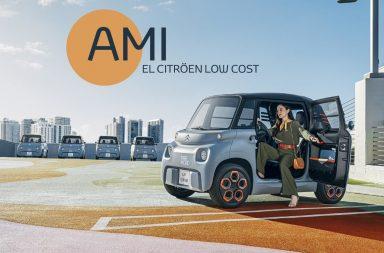 Ami: El novedoso Citröen low cost que no necesita carnet y quiere revolucionar Europa