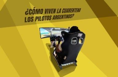 ¿Cómo viven la cuarentena los pilotos argentinos?