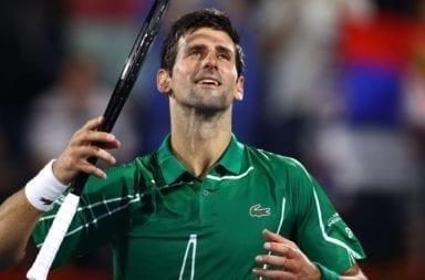 Djokovic tendrá congelado su registro como N°1 hasta el reinicio del tenis