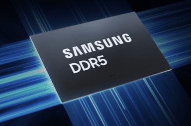 Samsung lanzará memorias RAM DDR5
