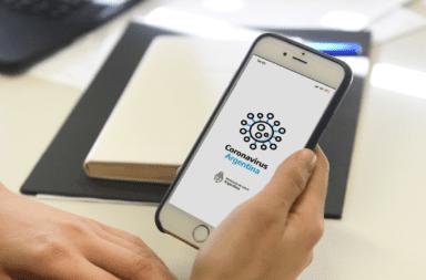 ¿Cómo funciona la app para detectar casos de coronavirus?