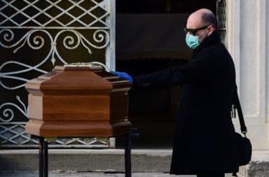 Coronavirus: Triste récord en Italia 793 muertes en las últimas 24 horas