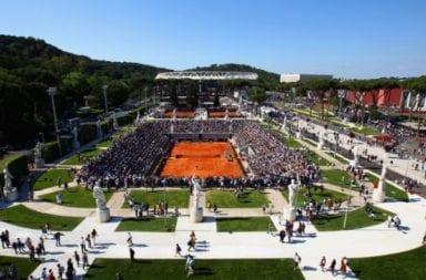 Tenis: Roma planea jugar sus torneos ATP y WTA en el 2020
