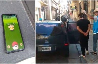 En pleno aislamiento jugaba al Pokemon Go en San Telmo: fue detenido