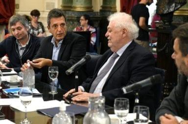 Sergio Massa prepara recorte de sueldos en Diputados