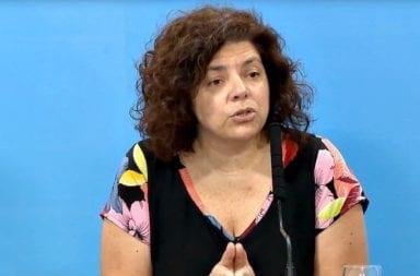 Carla Vizzoti aseguró que no se rompió la cuarentena