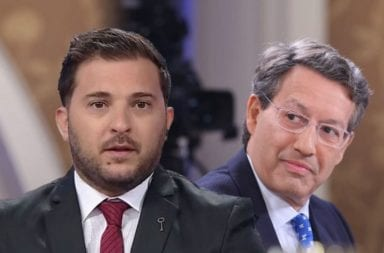 Diego Brancatelli y Ceferino Reato